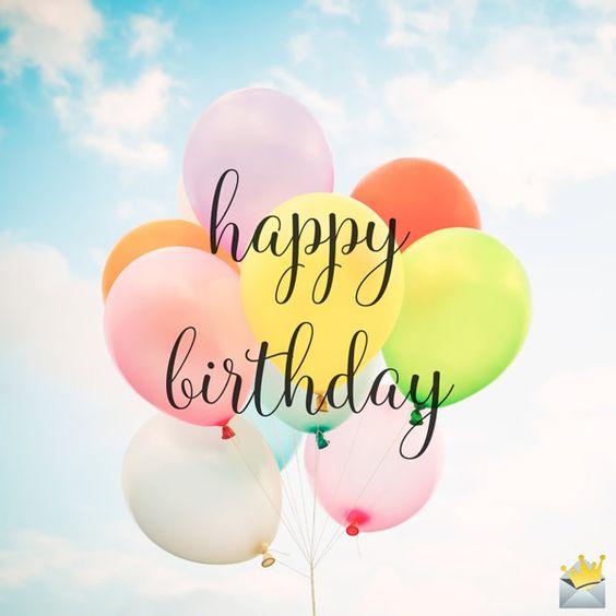 Happy birthday wishes in prose